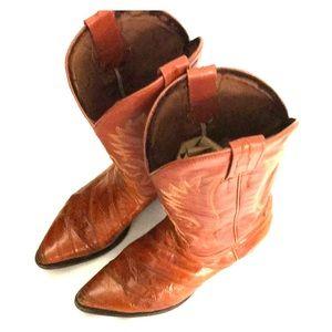 REBELDE Peanut Brittle Sz 12? Men's Western Boots